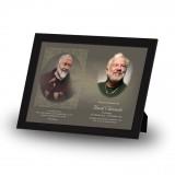 Padre Pio Framed Memory
