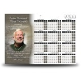 Padre Pio Calendar Single Page