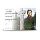 Celtic Church Acknowledgement Card