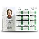 Celtic Church Calendar Single Page