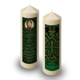 Celtic Tribal Candle