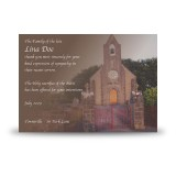 Church Bell Monea Co Fermanagh Acknowledgement Card