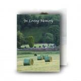 Bailing Standard Memorial Card