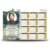 Bailing Calendar Single Page
