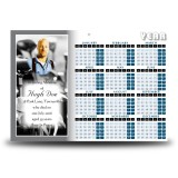 Golf Clubs Calendar Single Page