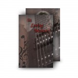 Guitar Wallet Card