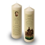 Showjumping Candle
