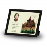 Showjumping Framed Memory