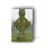 Irish Celtic Wallet Card