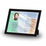 Irish Flag Framed Memory
