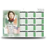 Irish American Calendar Single Page