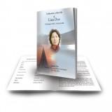 Lake Cruise The Rockies Canada Funeral Book