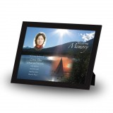 Lake Cruise The Rockies Canada Framed Memory