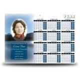 Lake Cruise The Rockies Canada Calendar Single Page