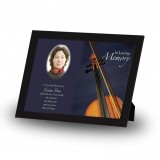 Violin Framed Memory