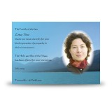 Scenic Mountains The Rockies Canada Acknowledgement Card