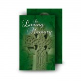 Irish Celtic Cross Wallet Card