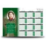 Irish Celtic Cross Calendar Single Page