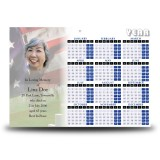 Remembrance Calendar Single Page