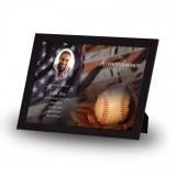 USA Baseball Framed Memory
