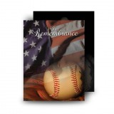 USA Baseball Standard Memorial Card