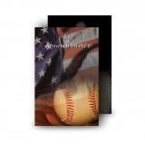 USA Baseball Wallet Card