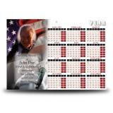 USA Football Calendar Single Page