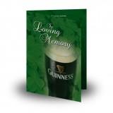An Irish Toast To Remember Folded Memorial Card