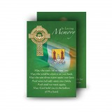 Irish Flag And Family Crest Wallet Card