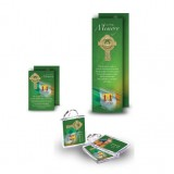 Irish Flag And Family Crest Pocket Package