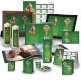 Irish Flag And Family Crest Custom Package