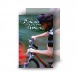 Mountain Biking Wallet Card