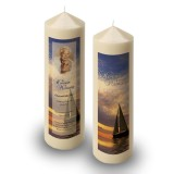 Sunset Sailing Candle