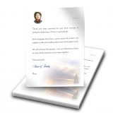 Sunset Sailing Thank You Letter