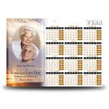 Sunset Sailing Calendar Single Page