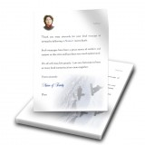Snowboarding Thank You Letter