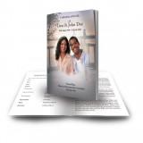 A Peaceful Sunrise Funeral Book