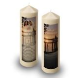 A Peaceful Sunrise Candle
