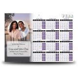 A Peaceful Sunrise Calendar Single Page