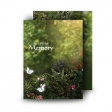 God's Heavenly Garden Standard Memorial Card