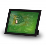 Irish American Flag Framed Memory