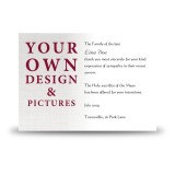 - Your Design Here - Acknowledgement Card