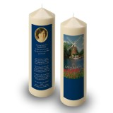 Amsterdam Holland Candle
