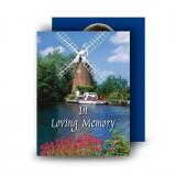 Amsterdam Holland Standard Memorial Card