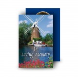 Amsterdam Holland Wallet Card