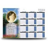 Amsterdam Holland Calendar Single Page