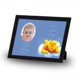Winnie The Poo Boy Framed Memory