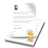 Winnie The Poo Boy Thank You Letter