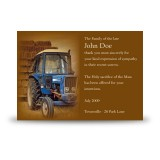 Hay Time Acknowledgement Card