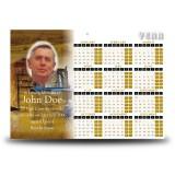 Hay Time Calendar Single Page